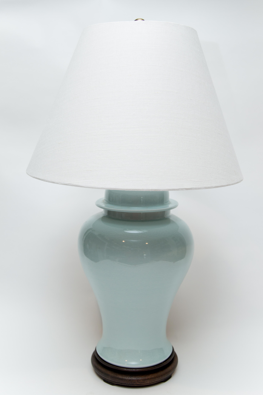 Sky Blue Jar Table Lamp Amy Karyn